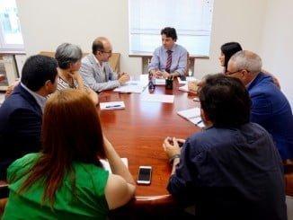 Reunión de Bueno con la Federación Andaluza de Empresas Cooperativas de Trabajo Asociado