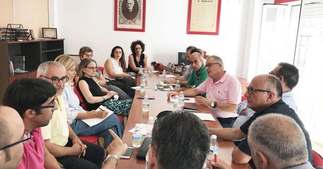 Reunión de la Sectorial de Salud del Partido Socialista