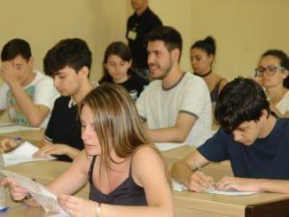 Estudiantes de Huelva inician las Pruebas de Acceso a la Universidad