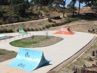 La skatepark del Parque Moret no cumple las normas de seguridad, según IU