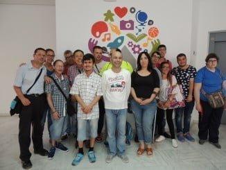 Visita de Aspapronias a la Casa de la Juventud