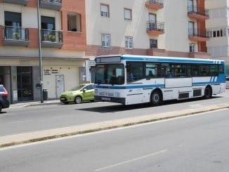 Dentro del transporte urbano, el de autobús es el que más desciende, con una tasa del -8,2%