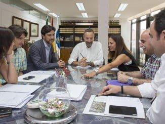 Reunión de distintos departamentos y administraciones sobre la ampliación del carril bici en la ciudad