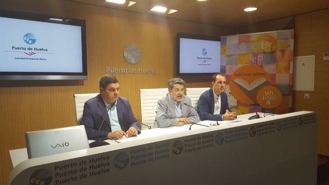 Presentación de los cursos de verano de la UNIA en los que colabora la Autoridad Portuaria de Huelva