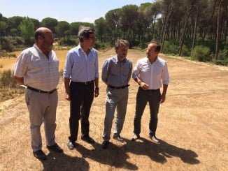 Fiscal ha inaugurado los humedales de Doñana junto al director de Relaciones Corporativas de Heineken