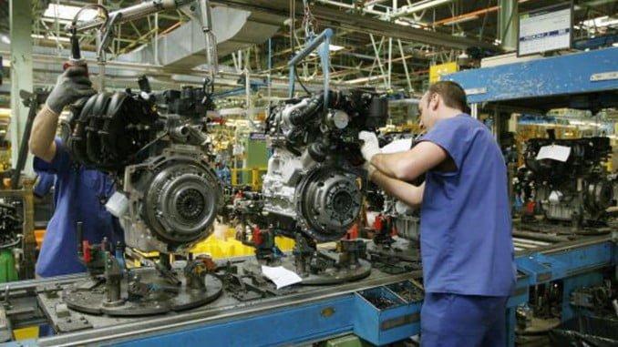 El mayor descenso en la producción industrial correspondió a los bienes de equipo (-17,4%)