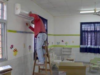Sólo tres centros educativos de la provincia se beneficiarán del plan de climatización de la Junta