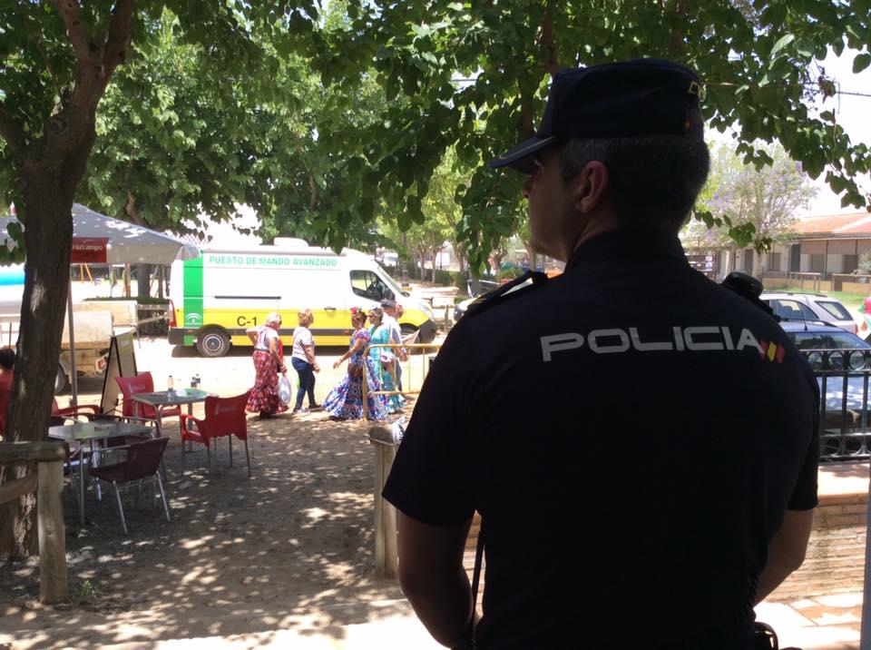 Dispositivos del Plan Romero velan por la seguridad durante la Romería