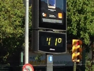 Las altas temperaturas vuelven a Huelva, en alerta amarilla este lunes