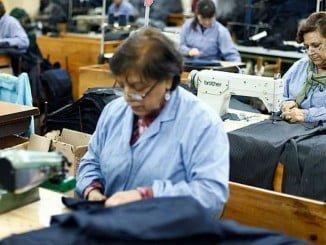 Las mujeres epresentan el 46,35% del total de ocupados
