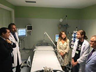 La nueva consejera de Salud, Marina Álvarez, ha visitado las nuevas instalaciones de Pediatría