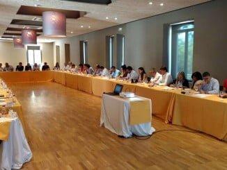 Imagen de las 33 empresas andaluzas y profesionales que  han participado en el Canal Contract.