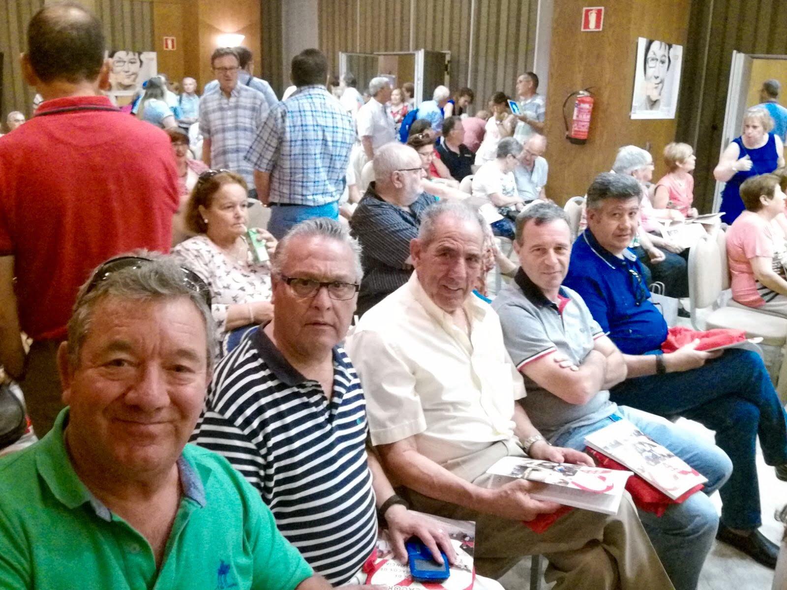 Representación de la asociación onubense en el encuentro de Córdoba.