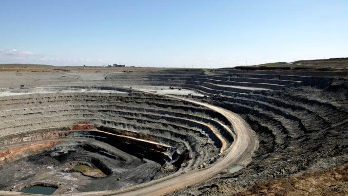 Imagen de la mina de Cobre Las Cruces.