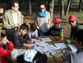 La Fundacion Cepsa finaliza la campaña de anillamiento prenupcial en la Laguna de Palos.
