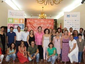 Tertulia con Carla Antonelli en 'Espacio de igualdad' de Diputación.