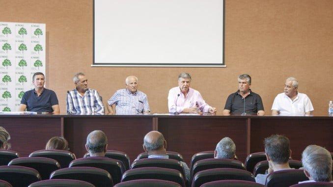 Eecciones a la Junta de Gobierno de la Comunidad de Regantes El Fresno, con sede en Moguer.