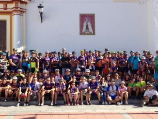 Alrededor de 200 ciclistas han participado este fin de semana en la II Marcha Ciclista Una Vía Verde Segura.