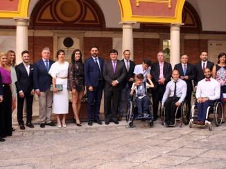 Entregados en Huelva los Premios Andalucía del Deporte con presencia del consejero.