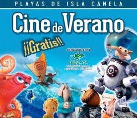 Comienza gratis el cine de verano en Isla Canela.