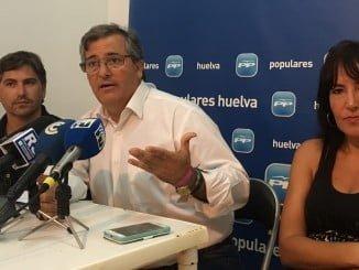 Los concejales del PP isleños dejan al descubierto el interés económico de Ciudadanos por Isla Cristina.