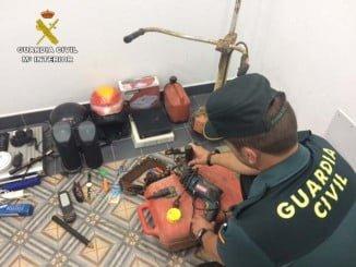Gracias a los cuerpos de Seguridad del Estado se ha desarticulado la banda de delincuencia organizada
