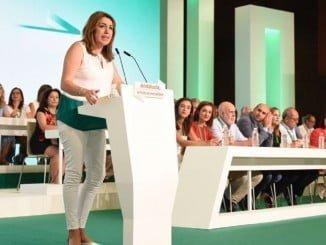 Susana Díaz ha mantenido a su equipo en la nueva Ejecutiva, que tendrá tres representantes por Huelva.