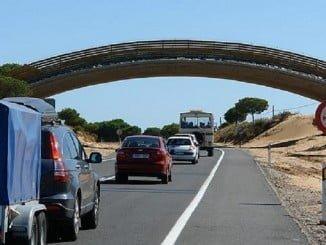 La Junta mejorará la seguridad vial en la A-483 de Almonte a Matalascañas
