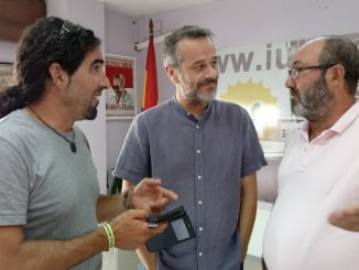 Antonio Moreno, José Antonio Castro y Pedro Jiménez