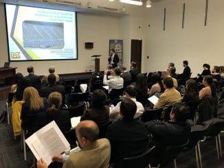 Empresarios durante la misión comercial a Colombia