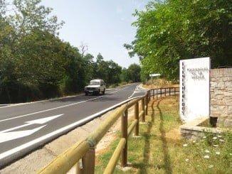 Inauguradas las obras en la carretera de Fueteheridos