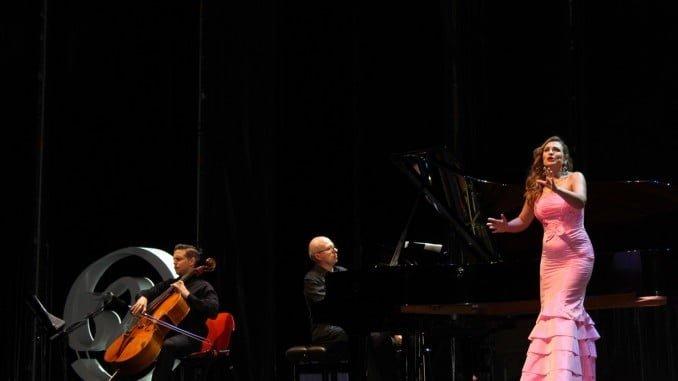 Ainhoa Arteta en el Foro Iberoamericano tras cinco años de ausencia en los escenarios de Huelva