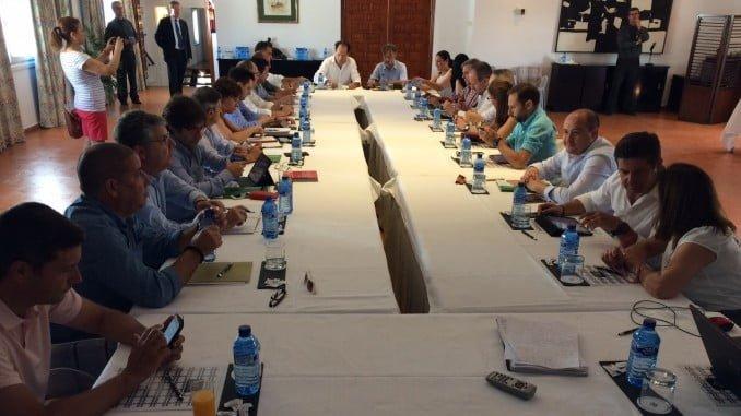 Reunión del Consejo de Dirección de Medio Ambiente en el Parador de Mazagón