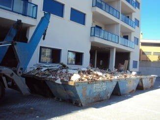 La reutilización de RCD recogidos en contenedores de obra evita la extracción de nuevos recursos