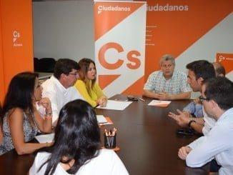 Ciudadanos ha mantenido una reunión con la Asociación de Jóvenes Empresarios