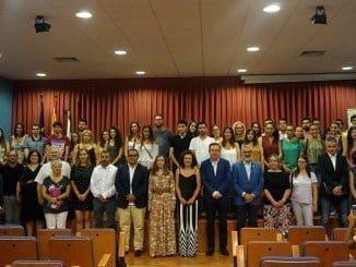 La Diputación de Huelva ha entregado las Becas del programa HEBE