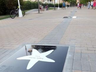 Islantilla cuenta desde ahora con un lugar especial para rendir tributo al cine
