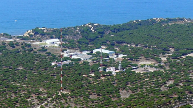 Instalaciones del INTA en el Centro de Experimentación del Arenosillo