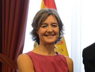 García Teejerina en el desayuno coloquio del Foro Ideal, en Granada