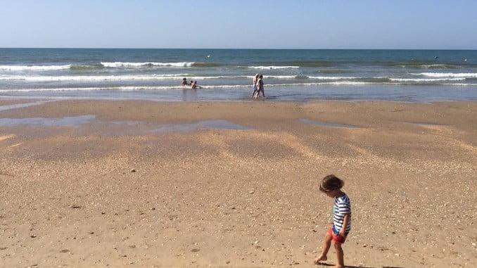 Playa de Islantilla, en Huelva