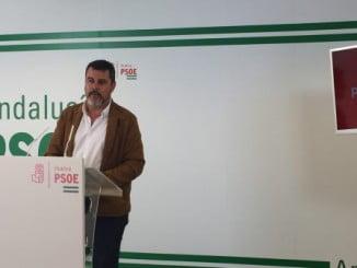 El secretario de Organización del PSOE de Huelva, Jesús Ferrera
