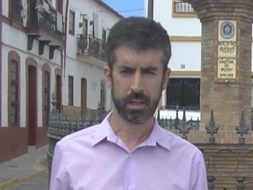 José Antonio Lozano, portavoz del PP en el Ayuntamiento de Nerva
