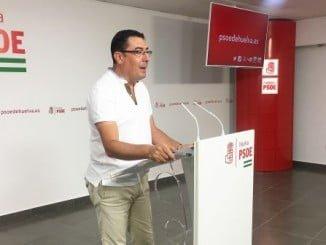 El secretario de Política Municipal del PSOE, Manuel Domínguez
