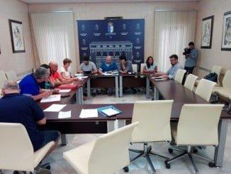 Reunión de la Mesa General de Negociación del Ayuntamiento de Almonte