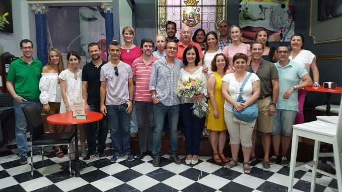 Los podólogos apoyan a Blanca Núñez, vocal del colegio andaluz