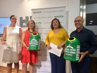Presentación de la campaña 'Toma nota, recicla vidrio'