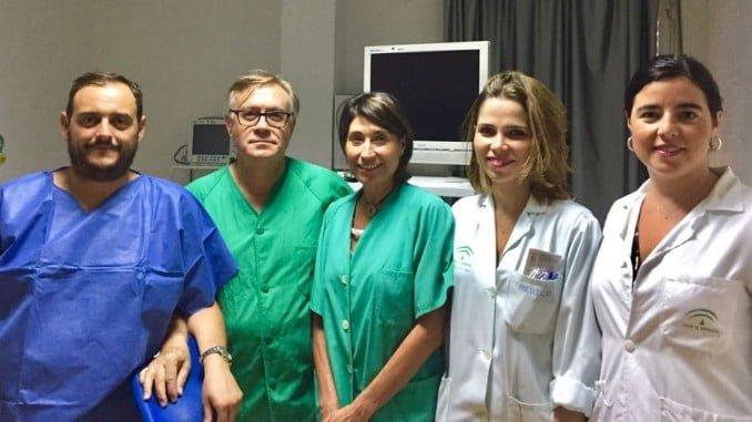 Profesionales de la Unidad de Patología Endometrial y Endoscopia Ginecológica