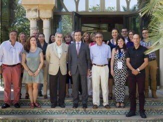 Los socios del proyecto 'Intrépida' en una reunión en Sevilla