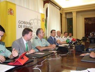 Rueda de prensa de la presentación del Plan Verano, ofrecida por el delegado del Gobierno en Andalucía, Antonio Sanz