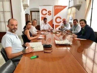 Reunión con el grupo parlamentario de Ciudadanos